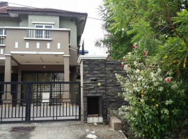 Jalan desa 2/2 country home rawang
